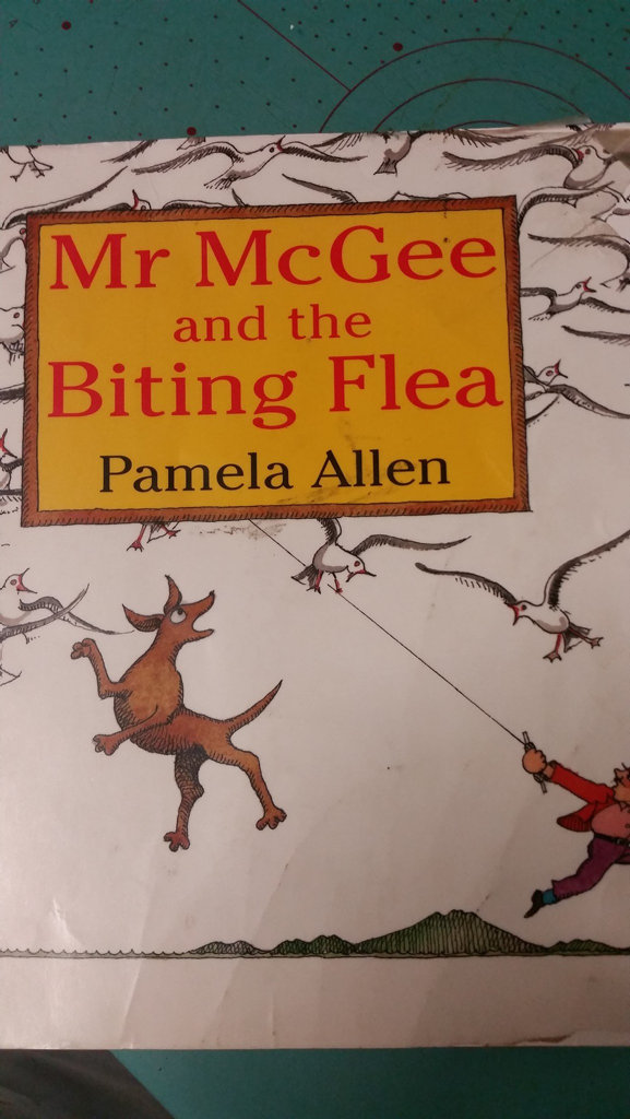 Mr McGee and the Biting Flea has caused a stir, nearly 20 years after it was published.