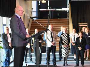 Governor General Sir Peter Cosgrove Visits Maryborough