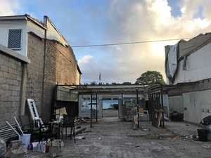 Demolished after Debbie, a new cafe is on the rise