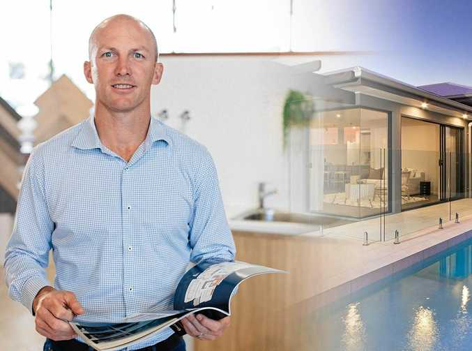 WINNING COMBINATION: Rugby league great Darren Lockyer is to launch his collection of house designs with Ausmar on Saturday at Caloundra.