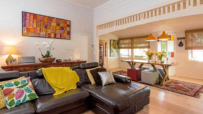 BEAUTIFUL: This unique Queenslander at 44 Charles St is for sale in Gladstone.
