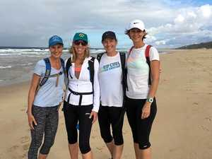 Coast trekkers target $1.7m for Hollows Foundation