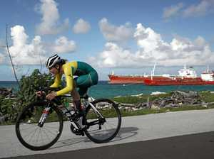 Golden moment for young Aussie cyclist