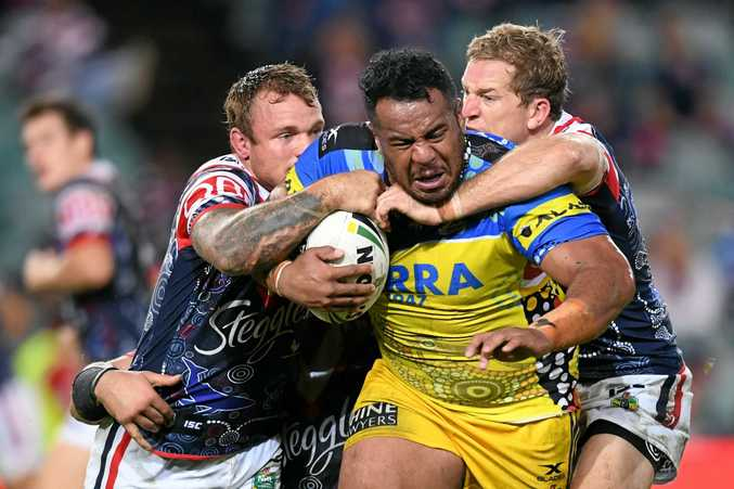 TESTING ISSUE: Tongan star Siosaia Vave is urging league players to shun the big money on offer from Australia and New Zealand and play for their country of origin at the rugby league World Cup.