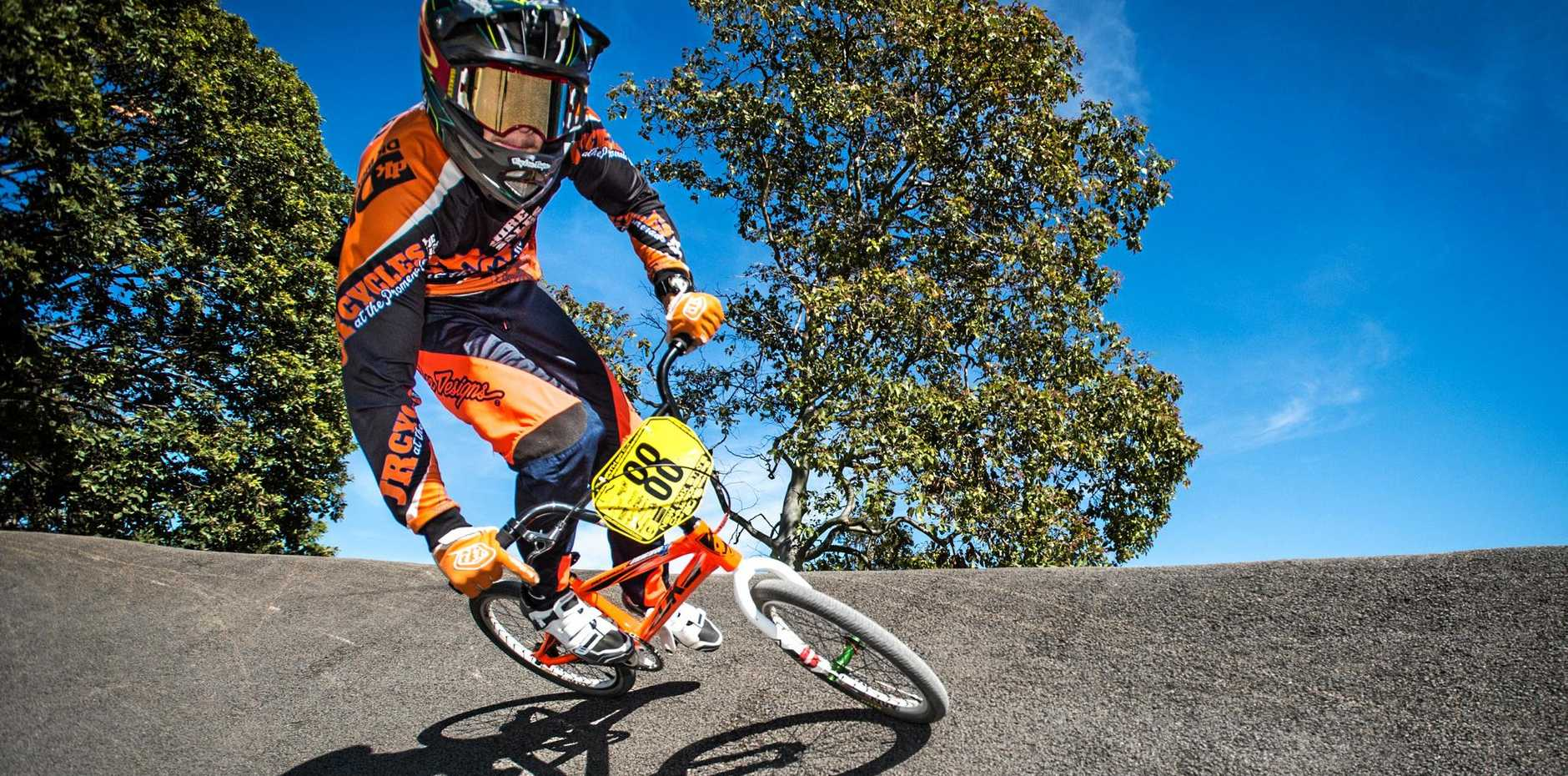 Kye Reid takes off on Friday for the BMX world championships.