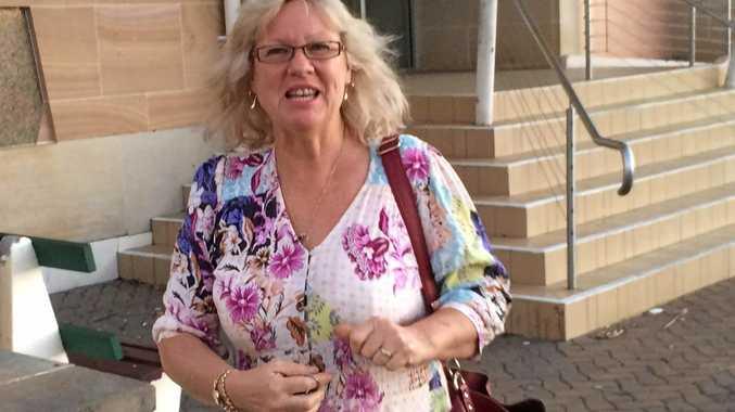 GUILTY PLEAS: Nurse Suzanne Filmer, 54, outside court yesterday.