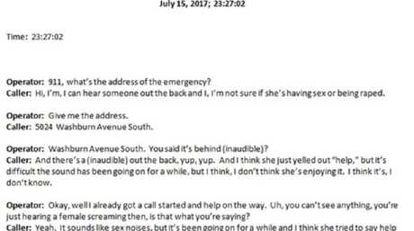 A transcript of Justine Damond's 911 calls has been released.