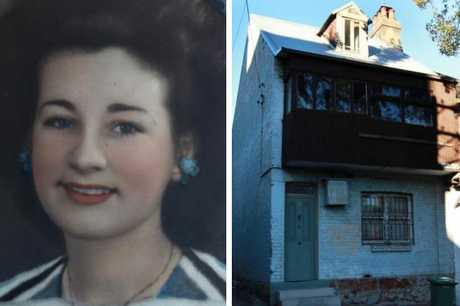 Natalie Wood, left, pictured at 21 in 1946 and right, the Sydney home where her remains were found.