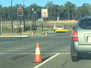 Traffic delays after Vodafone tower incident