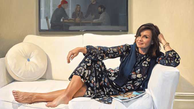 A portrait of Lisa Wilkinson by artist Peter Smeeth has taken out this year's Packer Room Prize.