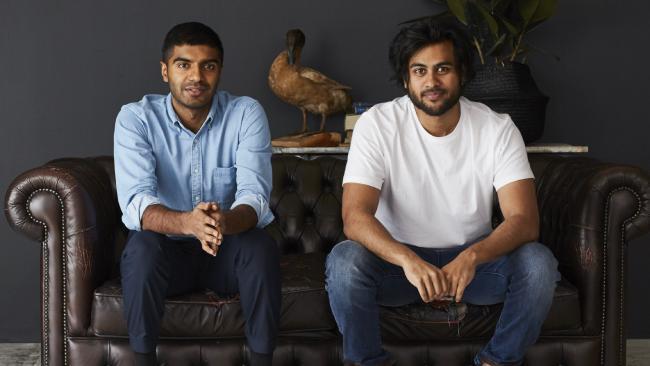 Sleeping Duck founders Selvam Sinnappan, left, and Winston Wijeyeratne.Source:Supplied
