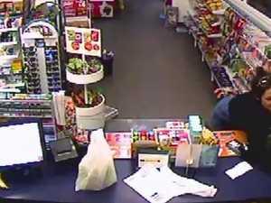 Woman, worker scuffle in servo robbery