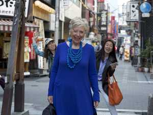 Maggie's whirlwind trip around Japan