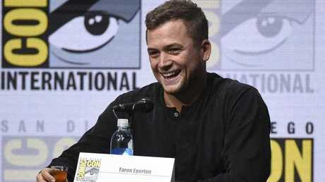 Taron Egerton attends the 20th Century Fox panel on day 1 of Comic-Con International on Thursday, July 20, 2017, in San Diego.
