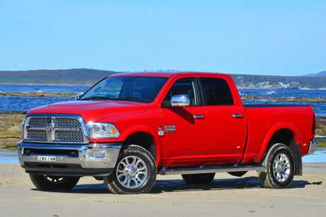 The Ram Trucks Laramie 2500 4x4 Crew Cab.