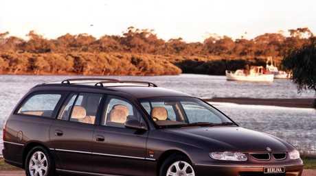 The VT Holden Commodore.