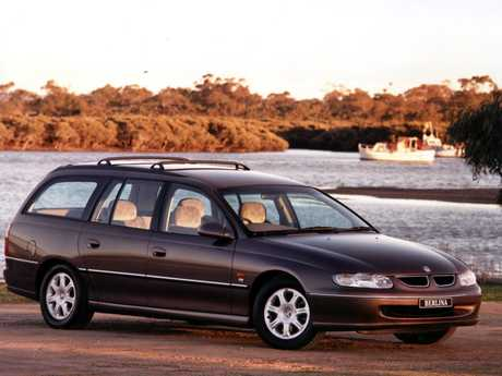 The VT Holden Commodore.
