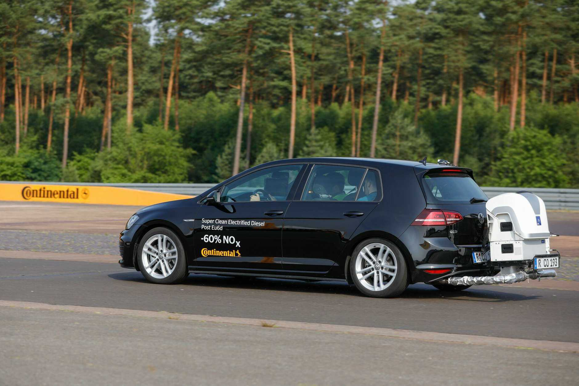 Continental's clean diesel Golf.