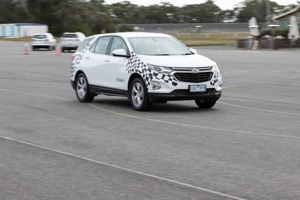 The Holden Acadia Equinox testing at Holden Proving Ground.