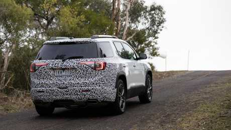 The Holden Acadia and Equinox in testing at Holden Proving Ground.