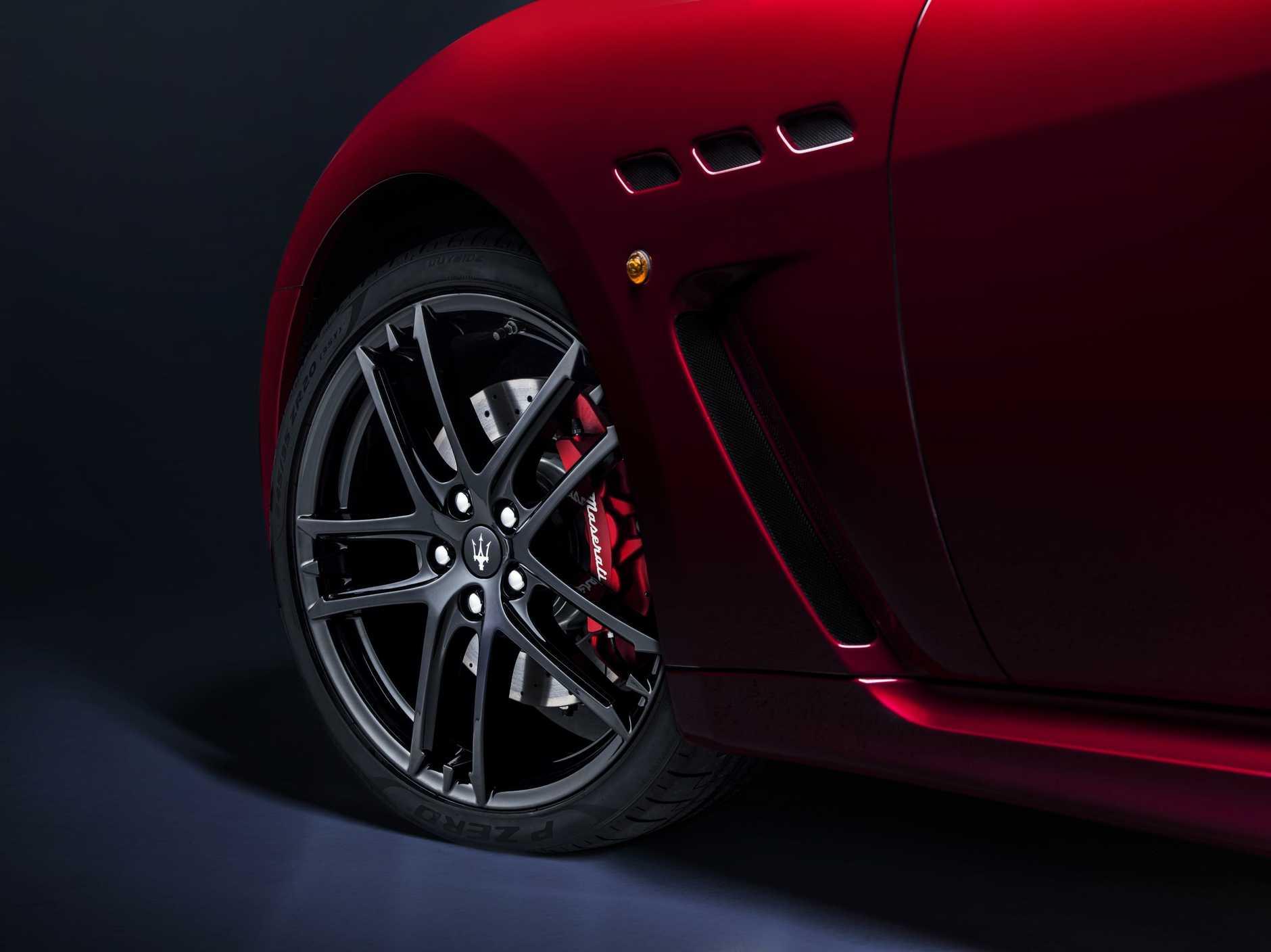 The 2017 Maserati GranTurismo.