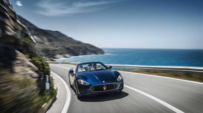 The 2017 Maserati GranCabrio.