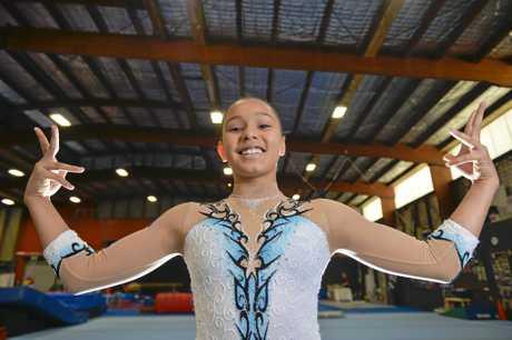 MOTIVATED: Izabeya has big ambitions in her chosen sport.