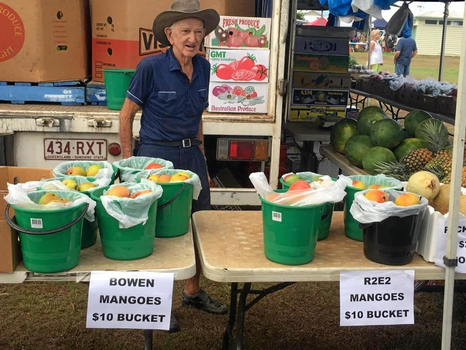 REMEMBERING HIM: Peter was well known at the Camilleri's Farm Markets where he worked each week for the past 15 years.