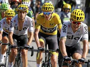 Tour de France: Froome on a mountain high