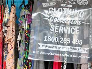 Clothing bounty for charities as recycling goes full time