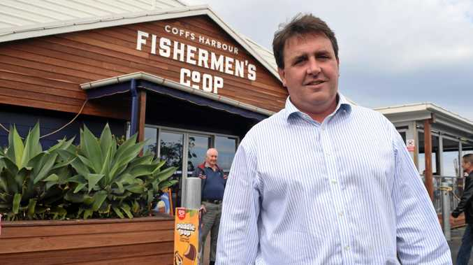 TITLE HOLDER: Coffs Harbour Fishermen's Co-op general manager Andrew Mitchell the title as the best supplier in the Sydney Fish Market Seafood Excellence Awards.