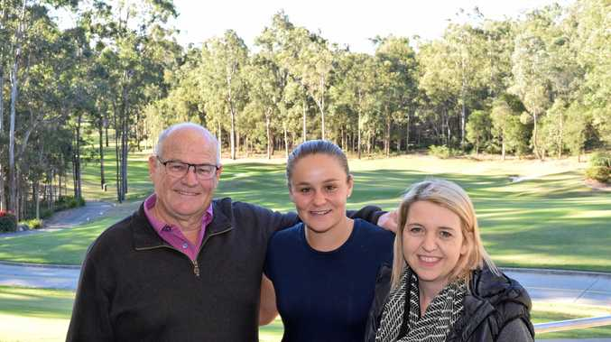 Ausralian tennis champion Ashleigh Barty will join Tania Van Eden and Greg Hodge in organising this year's Brookwater Charity Golf Day to raise much needed funds for Multiple Sclerosis.