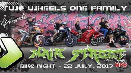 Springfield Bike Night will be held this Saturday night.