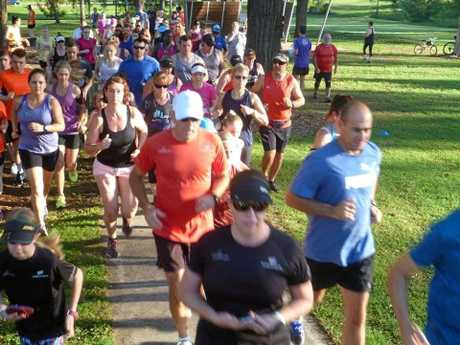 The Augustine Heights Park Run sees over 100 people each week take part in the 5km free event.