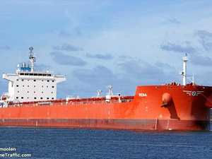 Ship detained off Hay Point with crew running out of food