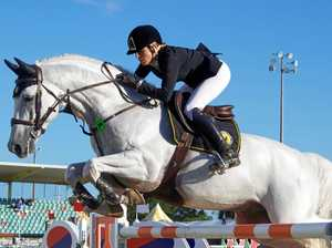 World Cup riders in action at July show