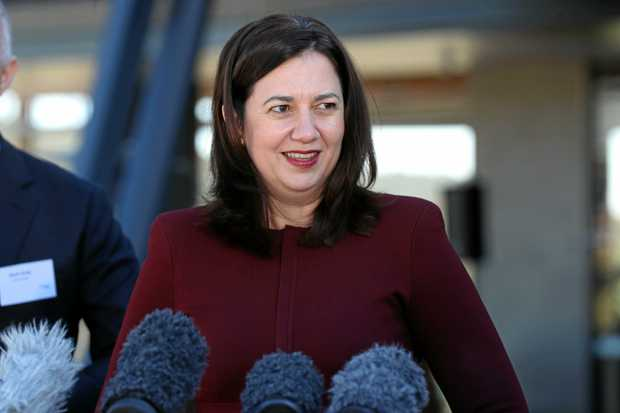 Queensland Premier Annastacia Palaszczuk is being coy about the date of the next election.