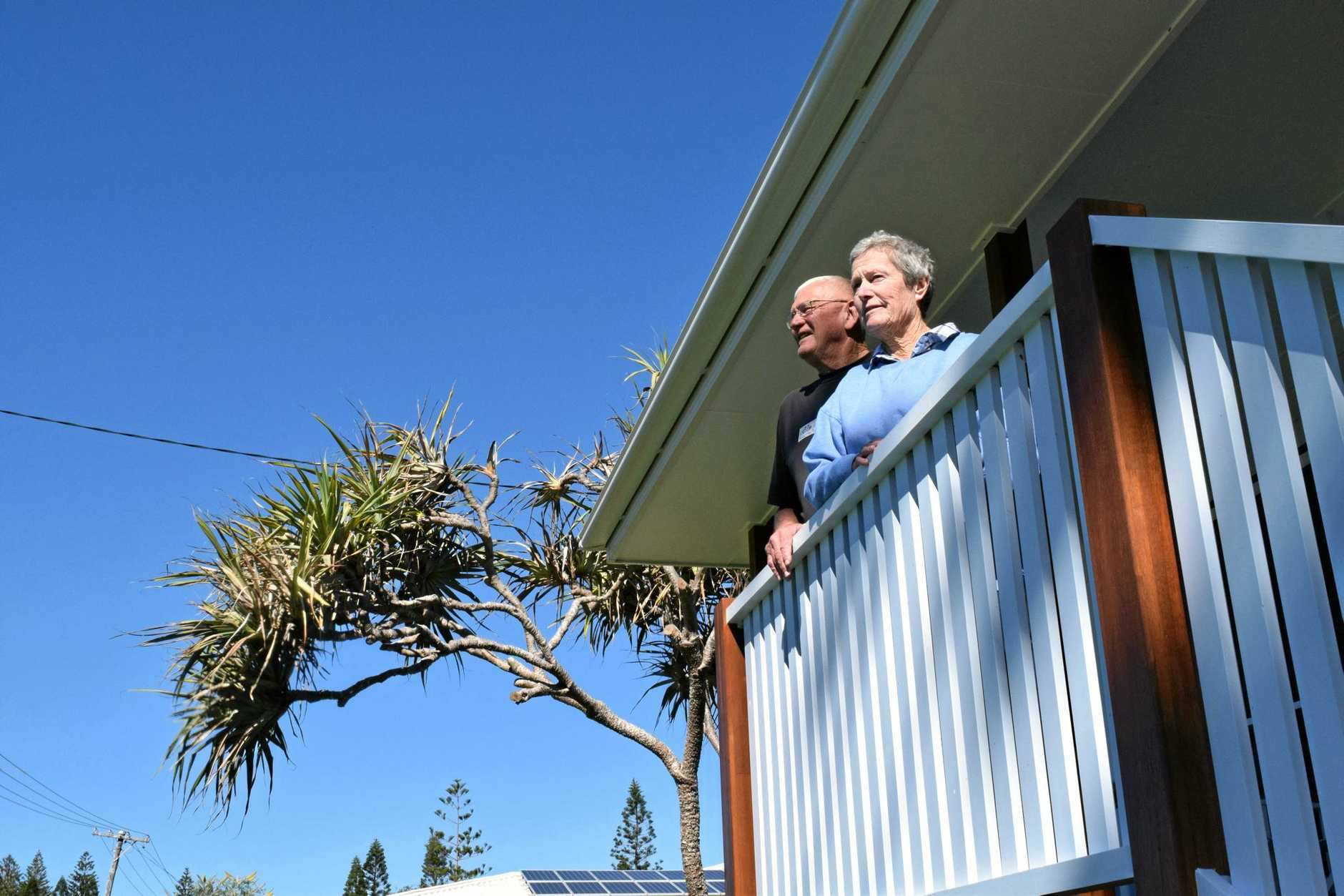TO THE OR NOT TO THE: Pensioners Kathy and Noel Langthorne have been unable to get their council rates discount because of a Centrelink technicality.