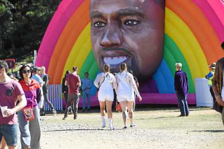 Kanye feature at Splendour in the Grass.