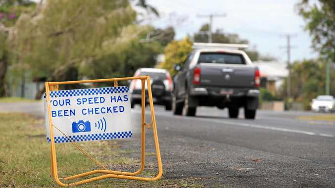 NSW RTA Speed Camera on Tweed Coast Road Murwillumbah.