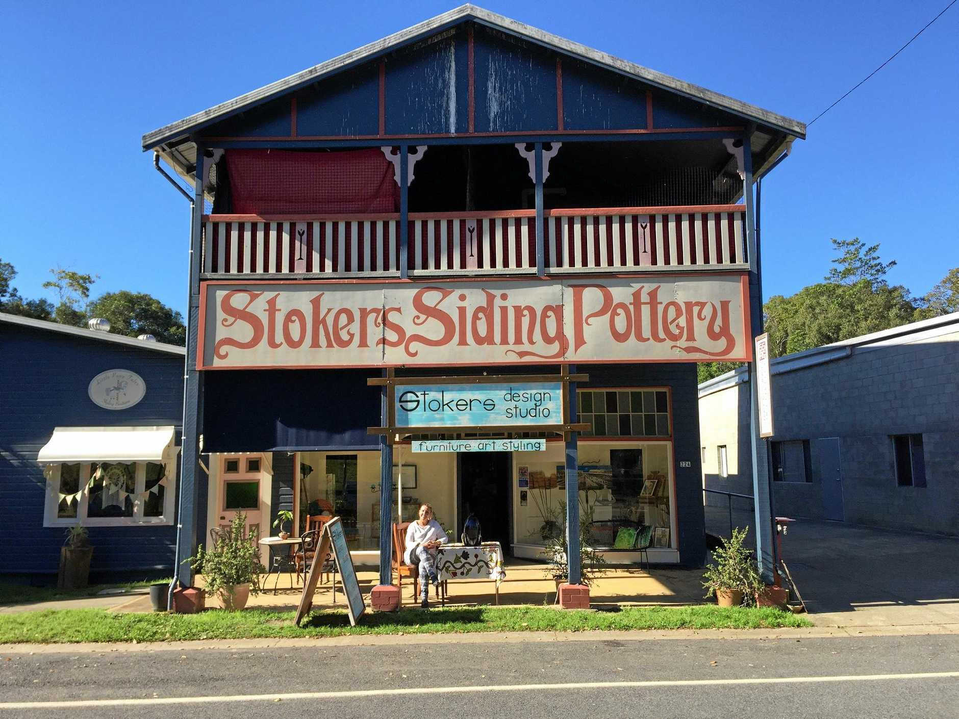 Lisa Young has Stokers Siding Design Studio, just across the road from the old railway station.
