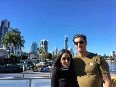 Meghan and Matthew Bryant spent the weekend in Surfers Paradise. On Wyndham Cruise.