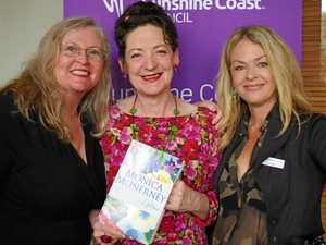 Author Monica McInerney draws 150 guests to library event