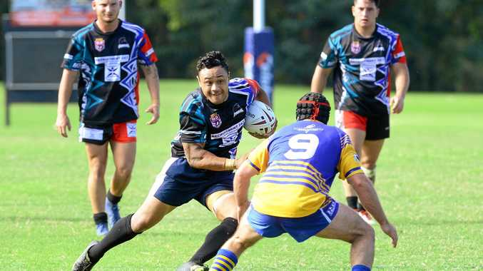 PRIDE: Cobras player Zac Leota in action earlier in the year. The club has done well in its first season in A grade.