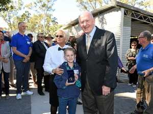 New Men's Shed blessed by Governor General Cosgrove