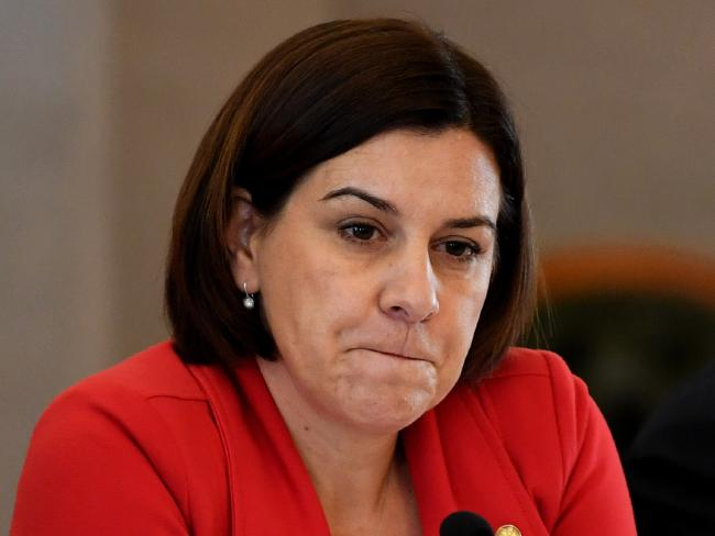 Deputy State Opposition Leader Deb Frecklington, a mother of three daughters, said she wanted to be called a role model, not a feminist, when she was elevated to the role in 2016. Picture: Samantha MancheeSource:AAP