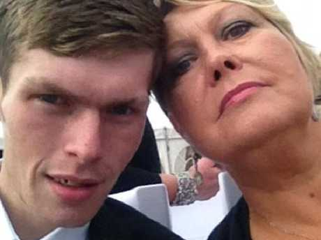 Melanie Brazier (right) says she wishes she had never made a pact to lose weight with her son Stevie (left).