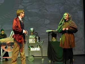 Young Frankenstein final dress rehearsal