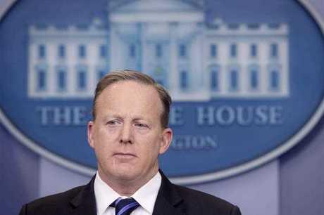 Sean Spicer has resigned as White House spokesman.