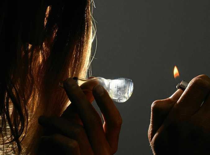 TERRIBLE DRUG: Ice is affecting a lot of people throughout the Central Queensland region.
